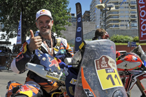 Jordi Viladoms KTM 450 RALLY Podium Dakar 2016