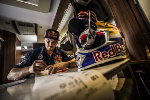 Toby Price Bivouac Dakar 2016