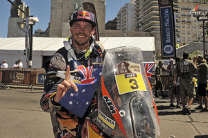 Toby Price KTM 450 RALLY Podium Dakar 2016